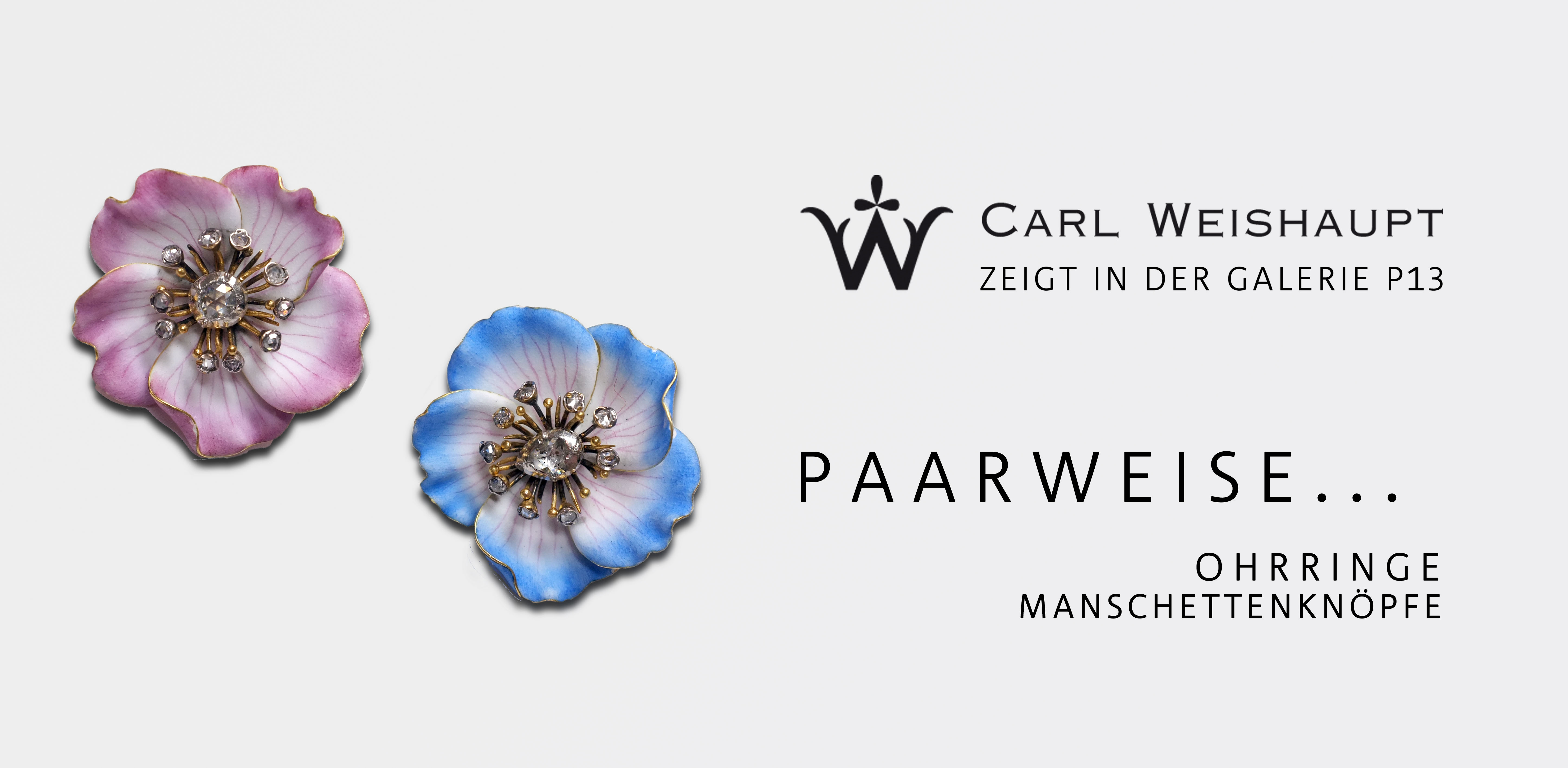 carl weishaupt Ausstellung Paarweise